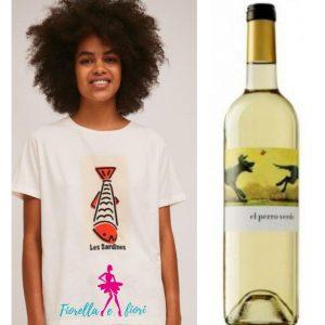 Pack camiseta y vino