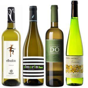 Pack de vinos blancos Junio