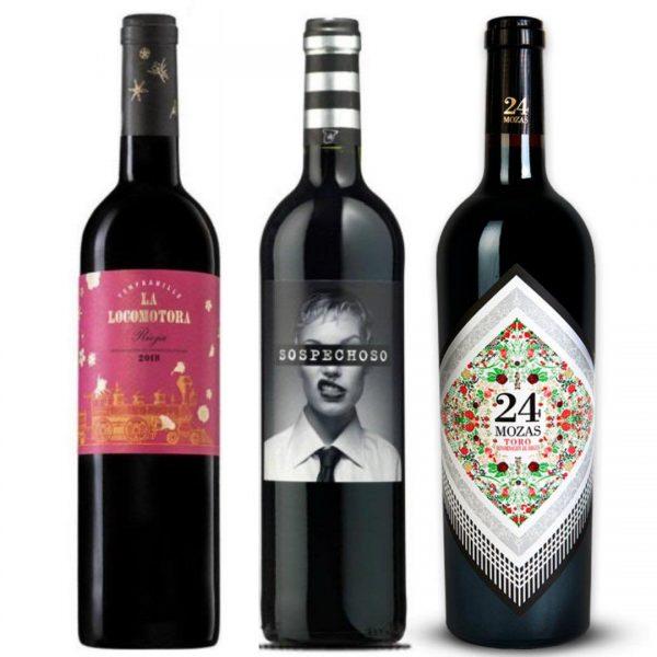 Pack de vinos tintos