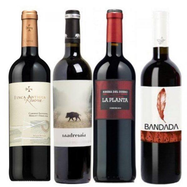 Pack vinos tintos