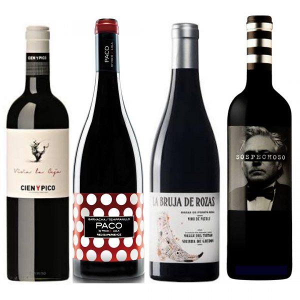 Pack de vinos tintos de Octubre